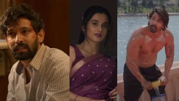 Taapsee Pannu Vikrant Massey Harshvardhan Rane's Haseen Dillruba Trailer Is Full Of Bloody Twists