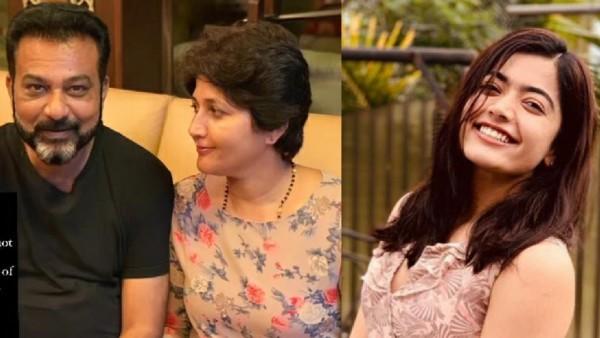 Rashmika Mandanna Pens A Heartfelt Note Wishing Her Parents On Their Wedding Anniversary
