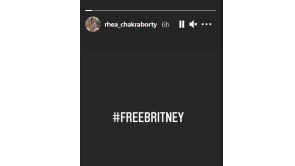 Rhea Chakraborty, Britney spears,