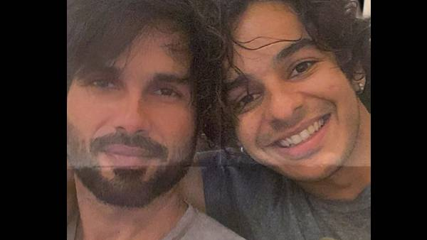 Shahid Kapoor Shares Lovely Post For Brother Ishaan Khatter Latter Gives Hilarious Reaction To It latest news of bollywood