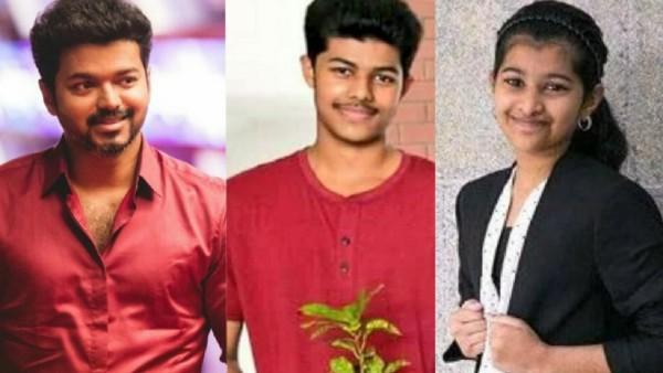 Thalapathy Vijay's Son Jason Sanjay & Daughter Divya Sasha Are Not On Twitter, Confirms Actor's PRO