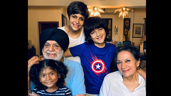 Mandira Bedi Shares A Happy Picture With Her Family, Says 'Only Love