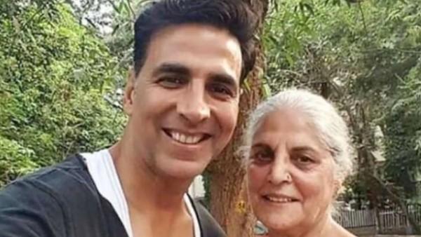 अक्षय कुमार की मां ने ली अंतिम सांस;  अभिनेता का कहना है कि उन्हें असहनीय दर्द होता है