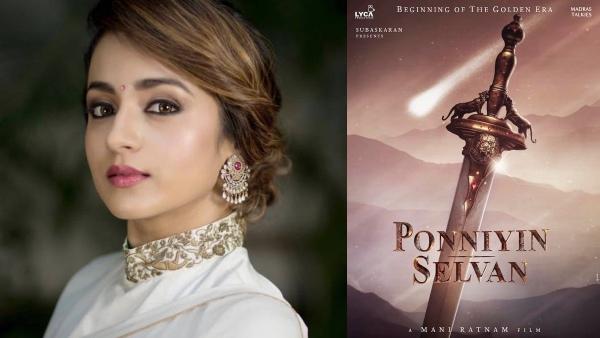 Ponniyin Selvan: Trisha Starts Dubbing For The Mani Ratnam Project
