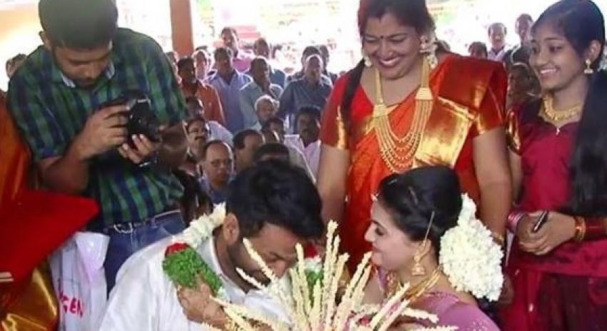 Saranya Mohan Wedding 7