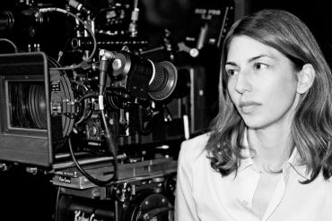 Sofia Coppola on the set of The Bling Ring, photographed by Andrew Durham, 2012