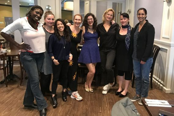 Dinner With Dames: Dinner #7, With Zoë Bell (Recap)