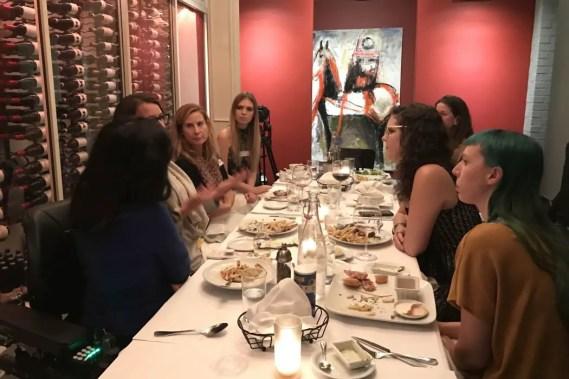 Dinner With Dames #11, With Rachel Shane (Recap)