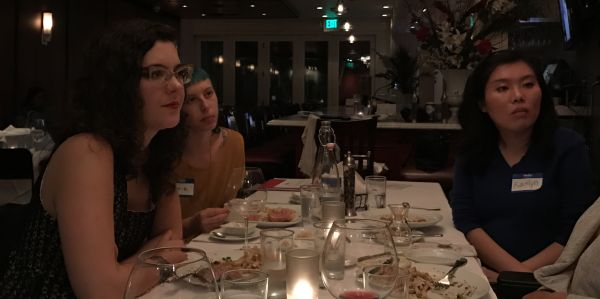 Dinner With Dames #11, With Rachel Shane (Recap)