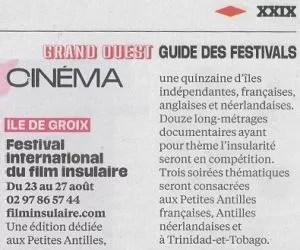 Libération - Festivals de l'été - 17/06/2017