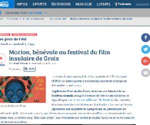 France bleu - émission du 23/08/2017 - Interview Marion