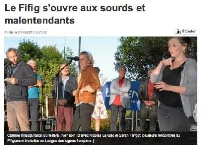 Ouest France du 24/08/17 - édition numérique