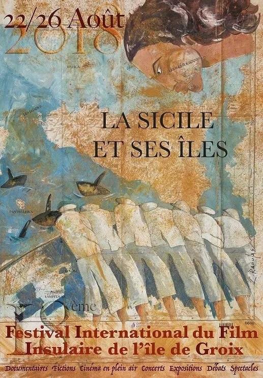 Affiche 2018 : La Sicile et ses îles