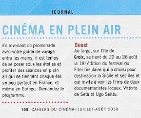 Les-cahiers-du-cinéma-Juillet-Août-2018