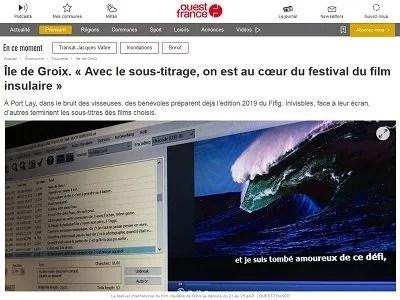 Ouest France du 17-08-19