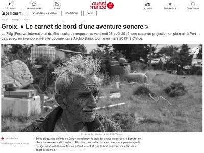 Ouest France du 22-08-19