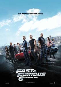 Fast and Furious 6 - Poster