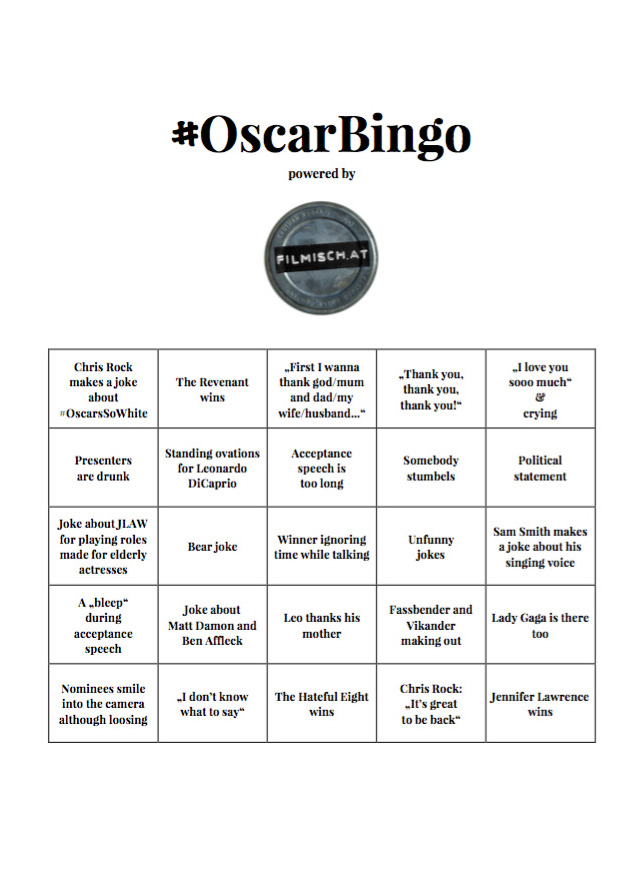 OscarBingo