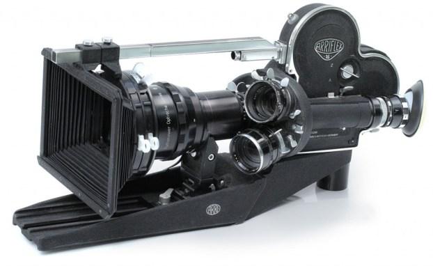 ARRI 16 ST mit Rectimaskop