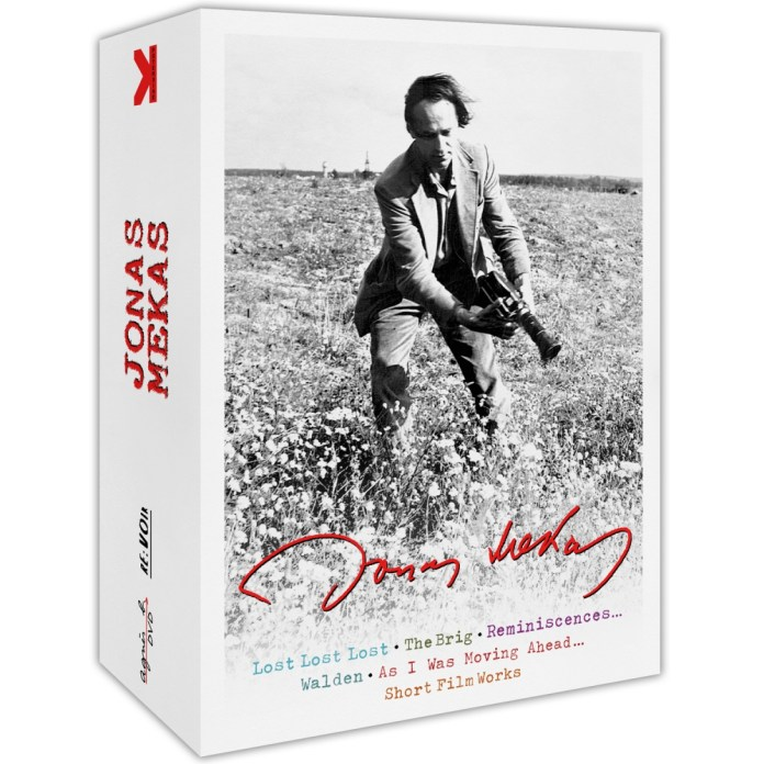 Jonas Mekas DVD box set published by Re:Voir