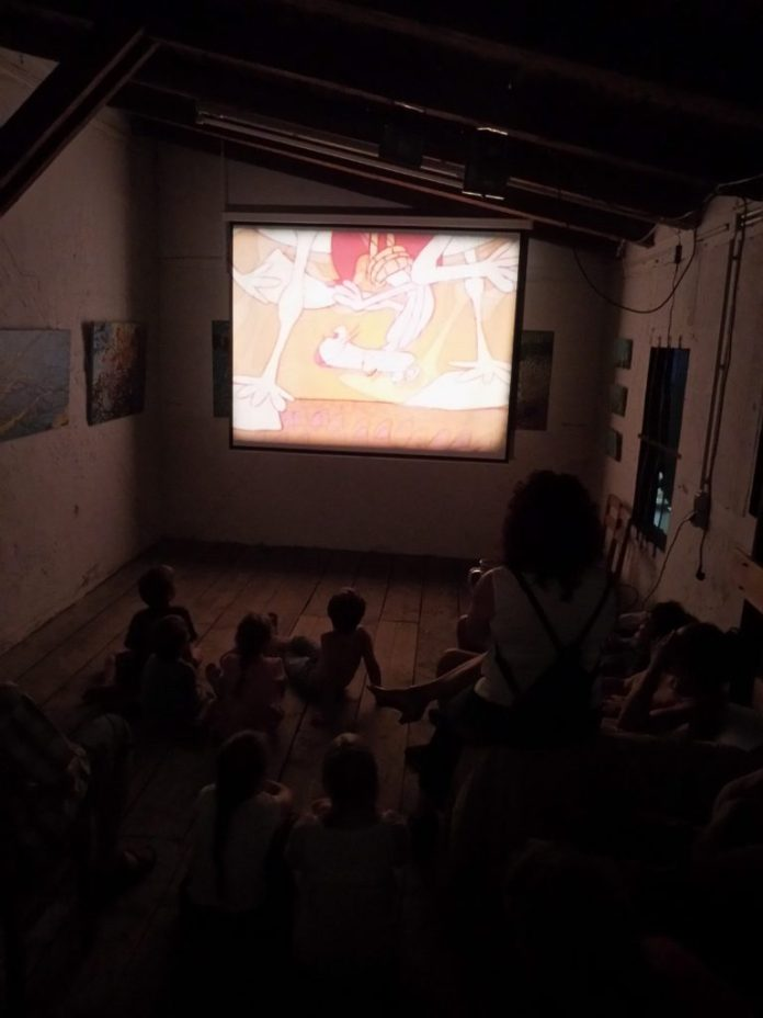 "Kinderkino in der ""Tenne"""