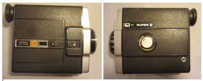 Brikett Nr. 1 Lomo 218 - Ostblock-Plaste-Kamera mit Fixfocus-Festbrenneite