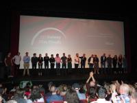 """Auch hier waren viele der Mitarbeiter und Schauspieler von """"Maze"""" anwesend"""