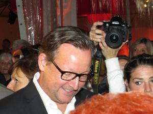 Matthias Brandt auf dem roten Teppich