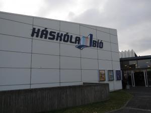 Das Kino Háskólabíó in Reykjavík wo die meisten der Filme vom Riff gezeigt wurden.