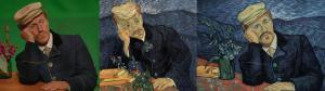 Jerome Flynn - Van Goghs Portrait von Dr. Gachet