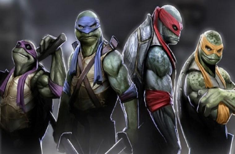 Sinemada Ve Televizyonda Ninja Kaplumbağalar