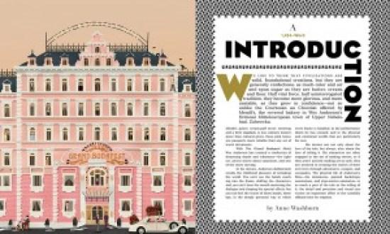 Grand Budapest Book - filmloverss