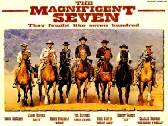 magnificent seven poster - filmloverss