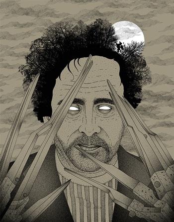 tim-burton-illustration-by-bradley-jay-filmloverss