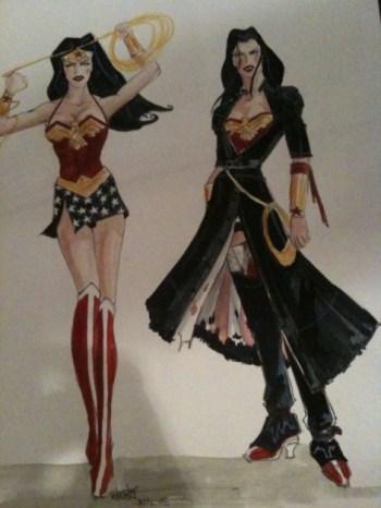 Joss Whedon'ın Wonder Woman çizimleri