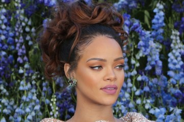 Rihanna attends the Christian Dior show as part of the Paris Fashion Week Womenswear Spring/Summer 2016 at the Louvre in Paris  Pictured: Rihanna Ref: SPL1141798  021015   Picture by: Splash News  Splash News and Pictures Los Angeles:	310-821-2666 New York:	212-619-2666 London:	870-934-2666 photodesk@splashnews.com