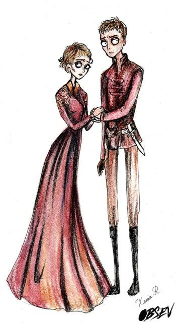 Cersei ve Jaime Lannister