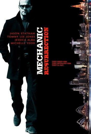 the mechanic 2 - poster - filmloverss