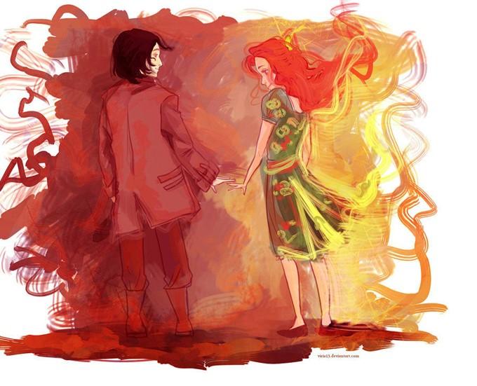Lilly ve Snape