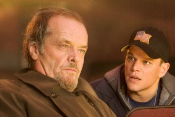 "Colin Sullivan (MATT DAMON) warns Costello (JACK NICHOLSON) that he is taking too many chances in Warner Bros. Pictures' crime drama ""The Departed."" 		 PHOTOGRAPHS TO BE USED SOLELY FOR ADVERTISING, PROMOTION, PUBLICITY OR REVIEWS OF THIS SPECIFIC MOTION PICTURE AND TO REMAIN THE PROPERTY OF THE STUDIO. NOT FOR SALE OR REDISTRIBUTION."