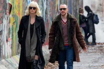 Atomic Blonde (2017) Charlize Theron and James McAvoy