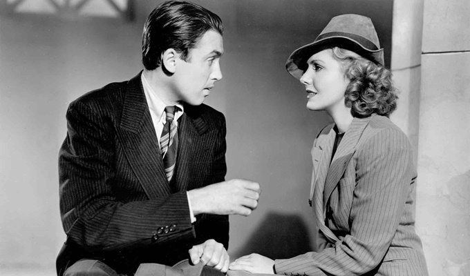 Mr. Smith Goes to Washington (1939) Directed by Frank Capra Shown from left: James Stewart (as Jefferson Smith), Jean Arthur