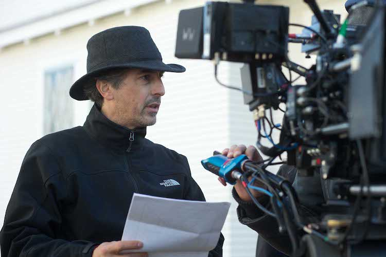 Alexander Payne on the set of NEBRASKA, from Paramount Vantage in association with FilmNation Entertainment, Blue Lake Media Fund and Echo Lake Entertainment. NEB-07633