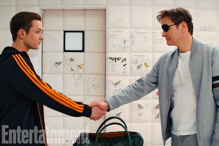Kingsman: The Golden Circle Taron Egerton and Colin Firth