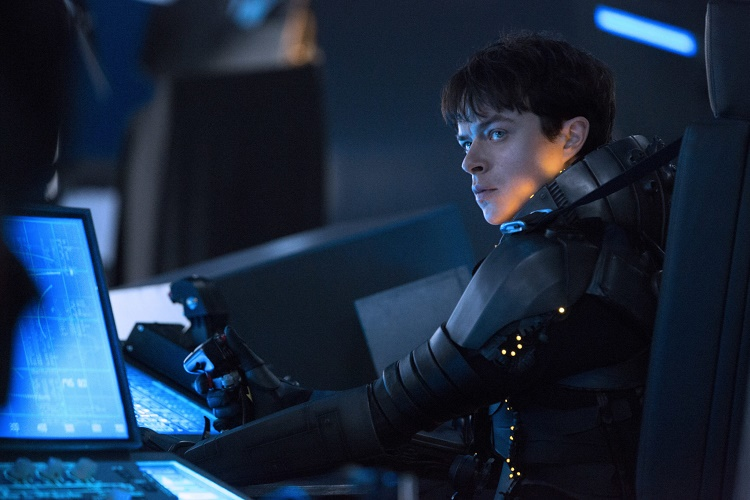 Dane DeHaan stars in Luc Besson's VALERIAN AND THE CITY OF A THOUSAND PLANETS. Credit: Copyright: © 2016 VALERIAN SAS Ð TF1 FILMS PRODUCTION.