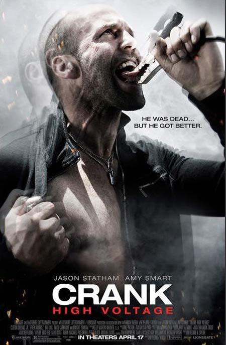 Crank 2: High Voltage Poster (2009)