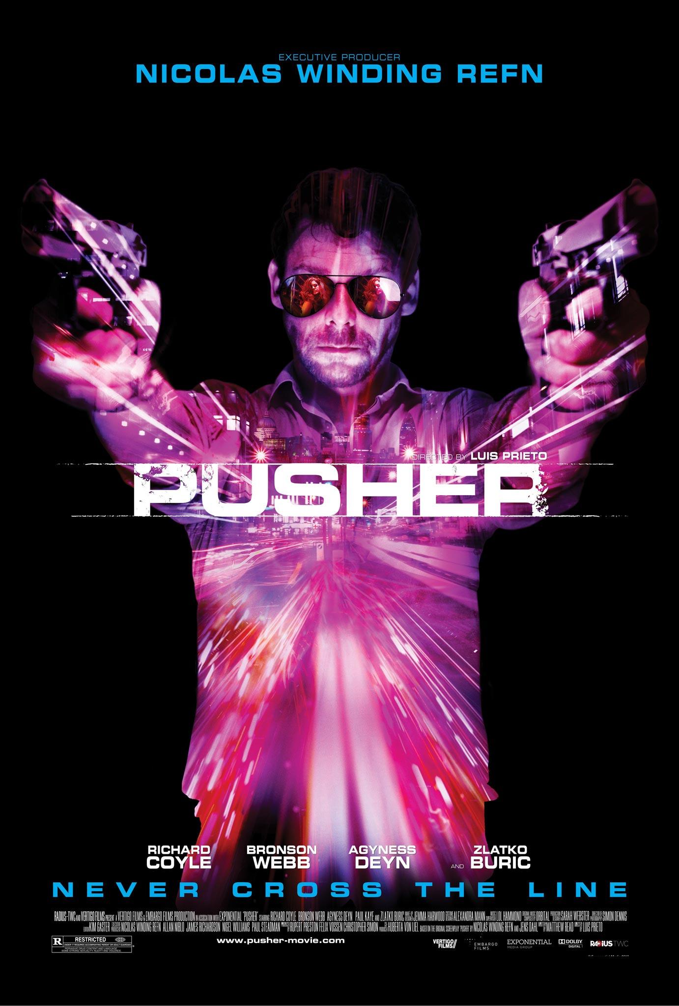 Risultati immagini per Poster Pusher