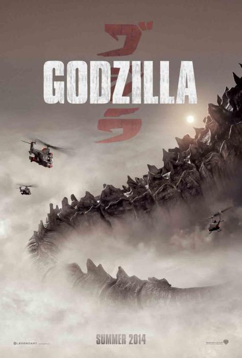 Eerste Godzilla poster