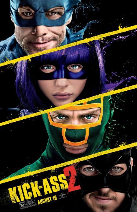 Kick-Ass 2 poster