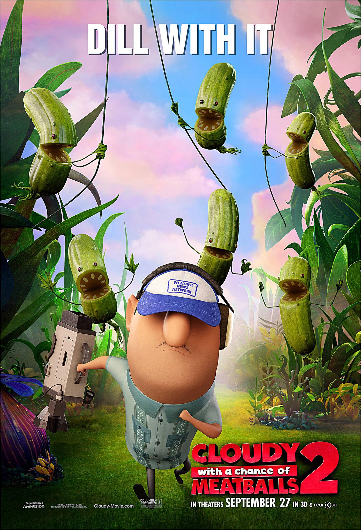Cloudy With A Chance Of Meatballs 2 Posters Tv Spot